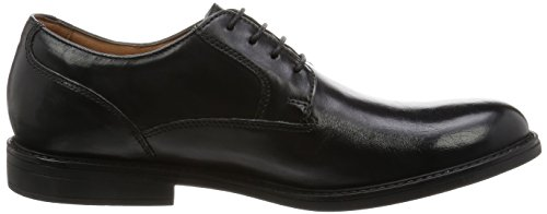 Scarpe Nero Black Stringate Beckfield Walk Clarks Leather Uomo qRE1Ew