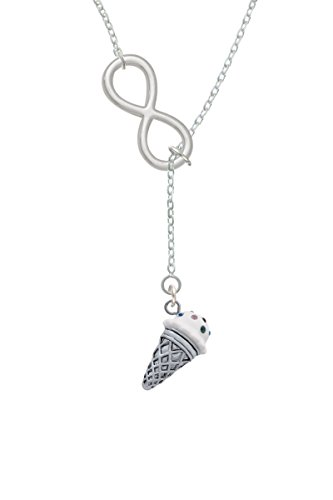 vanilla ice cream necklace - 1