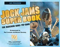 Jock Jams Super Book - Aux. Percussion Book