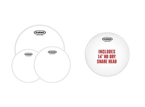 Evans G2 Clear Standard Pack (12