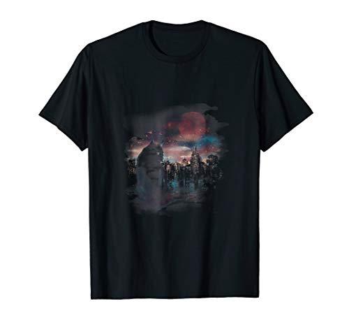 City Lights T Shirt for Men & Women - Cat Cheshire Sphynx for $<!--$18.50-->