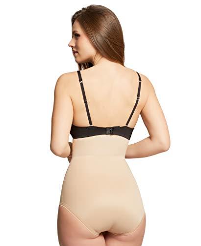 5c7f48bf2b4 HookedUp Plus Size Shapewear for Women Firm Tummy Control Slimming Body  Shaper Girdle High-Waist
