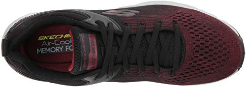 Sneaker Uomo Nichlas Nero Skechers Red Black AxO8pw