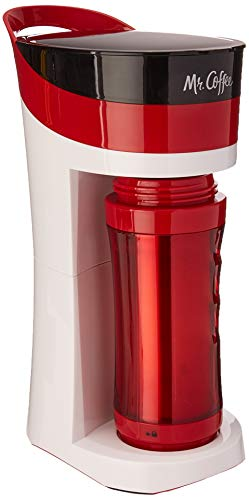 (Mr. Coffee BVMC-MLRD Pour Brew Go, reg Candy Apple red)