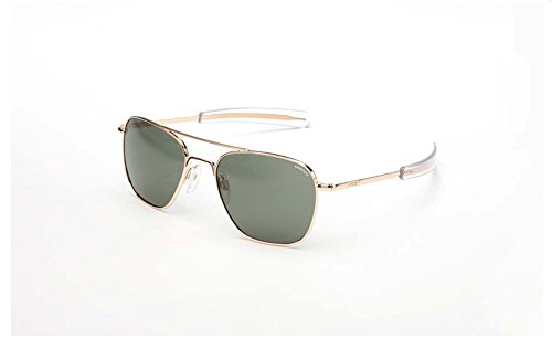 Randolph AVIATOR AF51614-PC Gold Frame,Bayonet,AGX PC - Aviator Engineering Sunglasses Gold Randolph By Frame