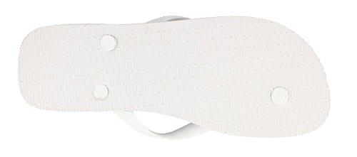 Havaianas Mens Sprøyte Sandal Flip-flop Hvit / Hvit / Sort
