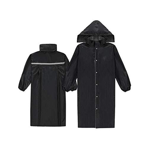 Noir X-grand JTWJ Imperméables, imperméables pour randonnées en Plein air pour Adultes, Ponchos pour Hommes et Femmes (Couleur   Royal bleu, Taille   XXL)
