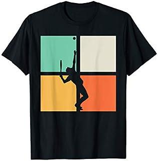 Cool Gift Tennis  Retro Tennis Court Gift Tennis Player Tshirt Women Long Sleeve Funny Shirt / Navy / S - 5XL