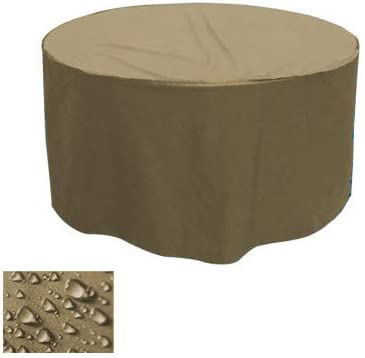 Premium jardín muebles de jardín mesa protectora carcasa redonda Ø ...