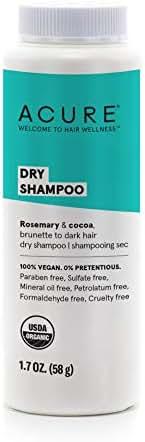 Dry Shampoo: Acure Dry Shampoo Brunette to Dark