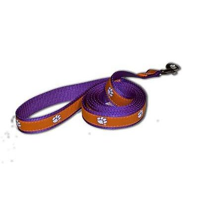 NCAA Clemson Tigers Dog Leash, Medium/Large