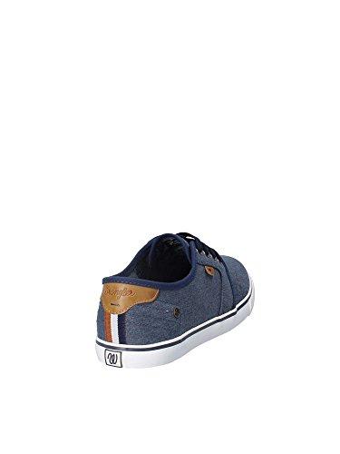Navy Sneakers Wrangler Wrangler Sneakers WM181000 Uomo Uomo WM181000 wWqqUvx0g