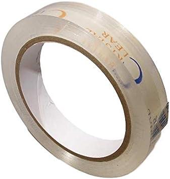 J.V 1//4 x 72 yd Converting BOOK-20CC//CLR02572 JVCC BOOK-20CC Crystal Book Repair Tape Clear