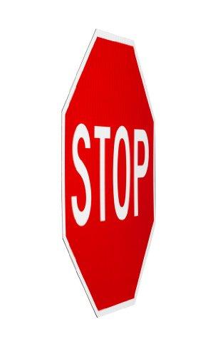 Elderlee, Inc. 9030.11 Stop Sign, MUTCD R1-1 .100 Aluminum, 30 x 30 Inch, 3M High Intensity Reflective Sheeting by Elderlee, Inc. (Image #1)
