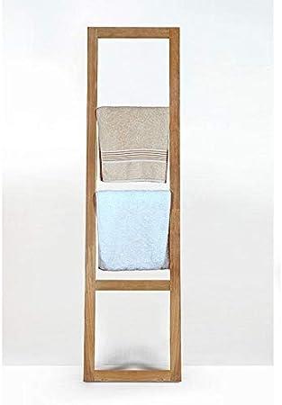 Escalera toallero teca maciza SCALA: Amazon.es: Bricolaje y herramientas