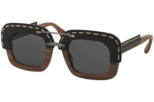 Prada Sunglasses PR26RS UA61A1 51mm Nut Canaletto/Black Leather