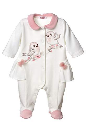 Sofija Baby Meisjes Slaappakken Footies Pasgeboren Kleding Pyjama 0-12 Maanden Slapen en Spelen Romper Eljana