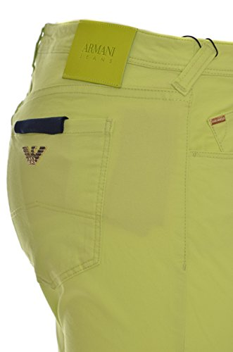 Verde Cotone Elasticizzato 5 J28 Donna Jeans Tasche Fit 3y5j28 Chiaro Slim Armani vwXqW45R
