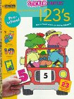 My First Book of 1 2 3's (Step Ahead Sticker Starters Preschool Workbooks)