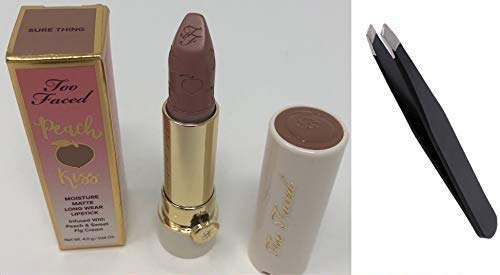 Matte Lipstick in Sure Thing 4g/0.14 oz + PROFESSIONAL TWEEZER