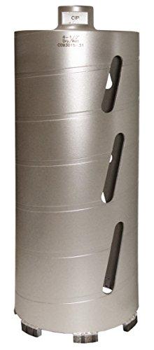Concord Blades CBD04500HP 4-1/2 Inch Laser Welded Dry/Wet Diamond Core Drill Bit