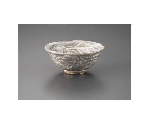 Mishima hydrangea Made by KIKUYOH 14 cm Match Bowl Pottery Ware by watou_asia (Image #1)