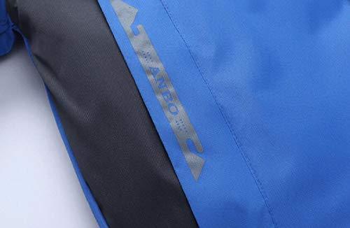 Classic Quilt Winter Heavy Bomber Puffer Short Blue Jacket Water Coat Resistant Men's TTYLLMAO xafqXX