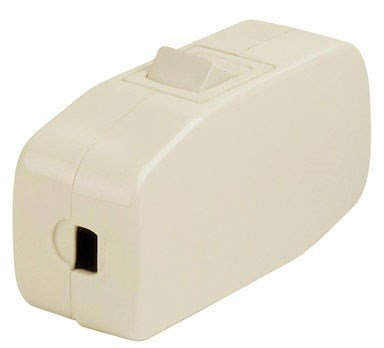 Leviton 5410-I 3Amp 125V Heavy Duty Feed Thru Rocker Appliance Switch, ()