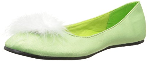 Ellie Shoes Women's 016-Tinker Ballet Flat, Green, 7 M US - Green Flat Wallet