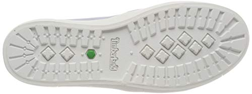 Timberland Women's Dausette Leather Slip On Trainers, White (Arctic Ice Jqp), 9 (42 EU)