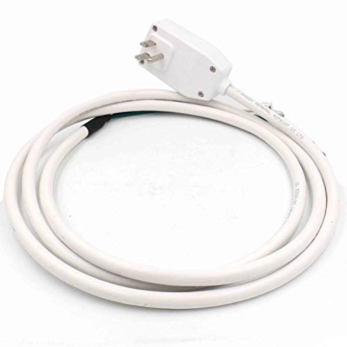 Baomain GP LCDI-120-15 LCDI power cord GFCI plug 120VAC 15Amp 1800W UL listed for air conditioner white ()