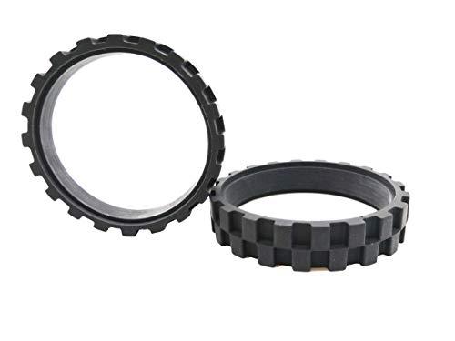 BIRETDA Wheel Tires for IRobot Roomba Series 500,600,700,800 and 900 Robot Vacuum Cleaner Irobot Parts Replacement Easy to Install