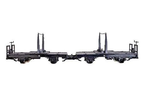 Zenner 2 Vagón Uniones giratorias, con cadenas, ESCALA G RUEDAS DE ACERO INOXIDABLE: Amazon.es: Juguetes y juegos