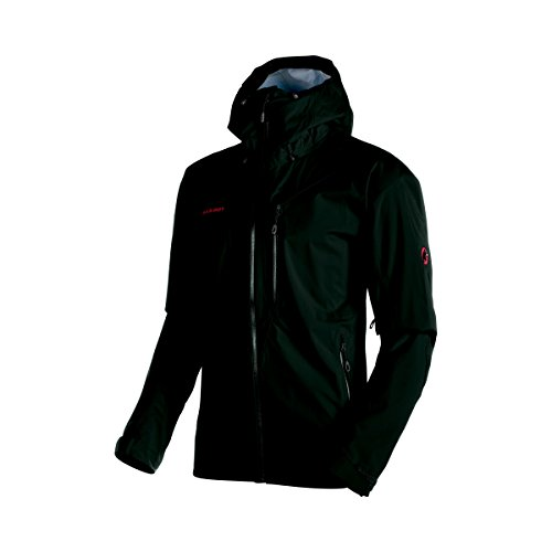 Mammut Kento HS Hooded Jacket - Men's Black X-Large from Mammut