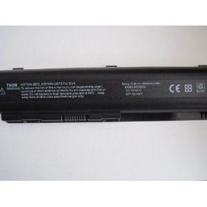 1130ca Battery - Thor Replacement 6 Cell 10.8v 4400mah Battery for Hp Pavilion Laptop Computer Dv5-1113us Dv5-1116us Dv5-1118ca Dv5-1119nr Dv5-1120us Dv5-1121ca Dv5-1124ca Dv5-1125nr Dv5-1127cl Dv5-1128ca Dv5-1130ca