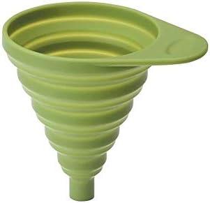 Lacor Siliconen opvouwbare trechter groen 30 x 12 x 30 cm
