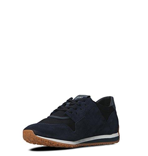 Blu Sneakers Tessuto Xxm70a0w900ll83ejs Uomo Tods