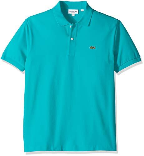 c4a843b864f2f8 Lacoste Men s Short Sleeve Pique L.12.12 Classic Fit Polo Shirt