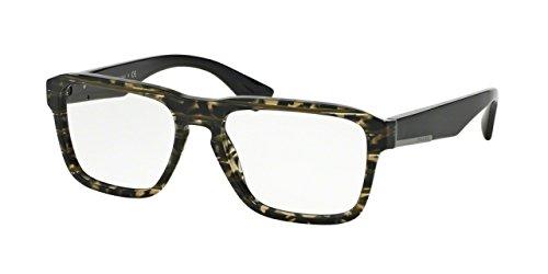 Prada PR04SV Eyeglass Frames UBE1O1-53 - Green Line - Clothing Prada Line