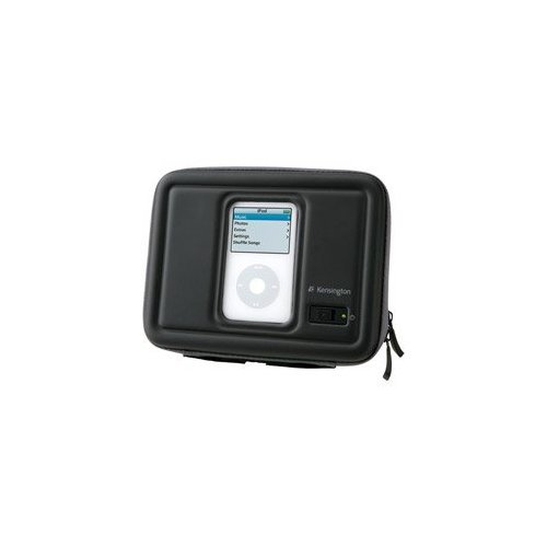 Kensington FX 500 Speaker to Go Case for iPod and MP3 Players (Black) by Kensington