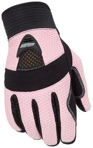 Womens Motorcycle Gloves Pink - 9
