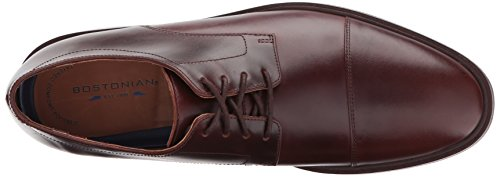 Bostonian Men's Mckewen Cap Oxford Mahogany Leather free shipping reliable buy cheap tumblr best prices cheap price 0NK2x
