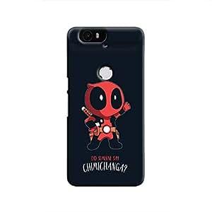 Cover It Up - Deadpool Chimichunga Nexus 6P Hard Case
