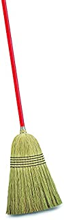 product image for Libman Commercial 502 Janitor Corn Broom (Pack of 6),Corn/Red