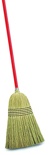 Libman Commercial 502 Janitor Corn Broom (Pack of 6)