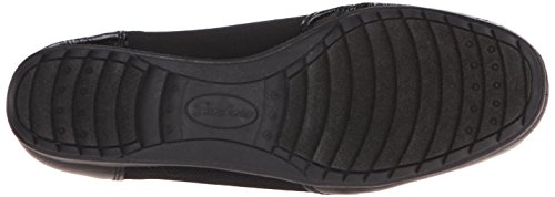 Canvas Roma Mujeres Skechers De Slip On Black Loafer cwzOZ0OBq