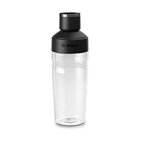 ToGo-fles 500 ml geschikt voor vacuüm blender VitaMaxx, BPA-vrij, onbreekbaar, transparant/zwart