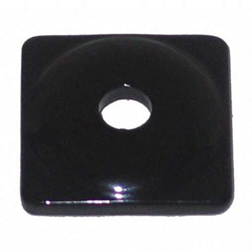Support Square Aluminum Plates (Woodys Aluminum Square Support Plates - Black - 5/16in. Thread - 48 Pack ASW2-3810-48)