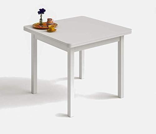 HOGAR24 es- Mesa Cuadrada Multiusos Comedor Cocina Dimensiones 90 ...