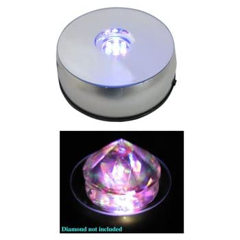 Amazon Com Revolving Multicolor Led Pedestal Display Base